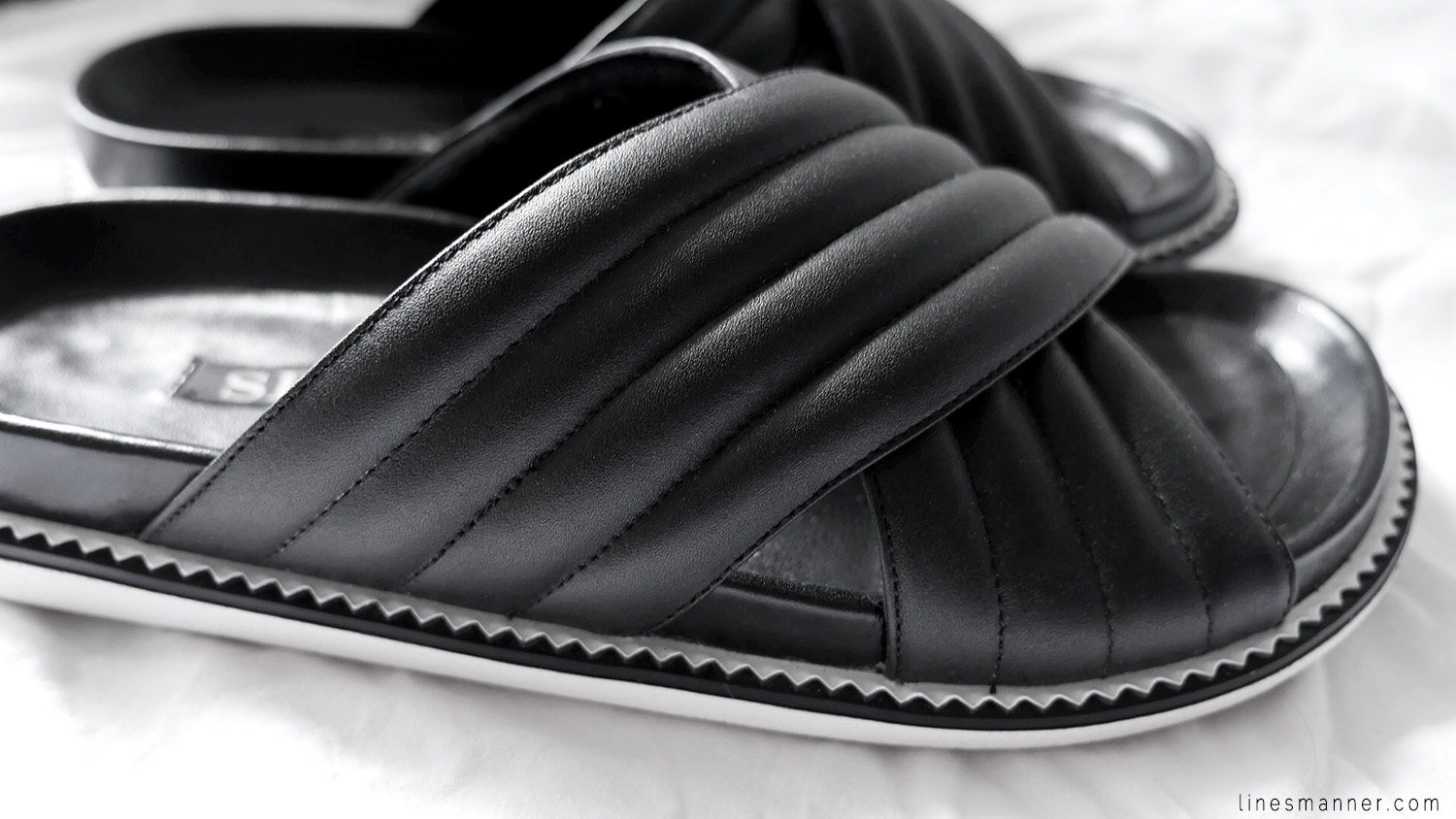 Lines-Manner-Trend-Shoes-Sandal-Comfort-Modern-Simplicity-Quality-Trend-Minimalism-Minimal-Leather-Flat-Senso-Summer-Black-Monochrome-3