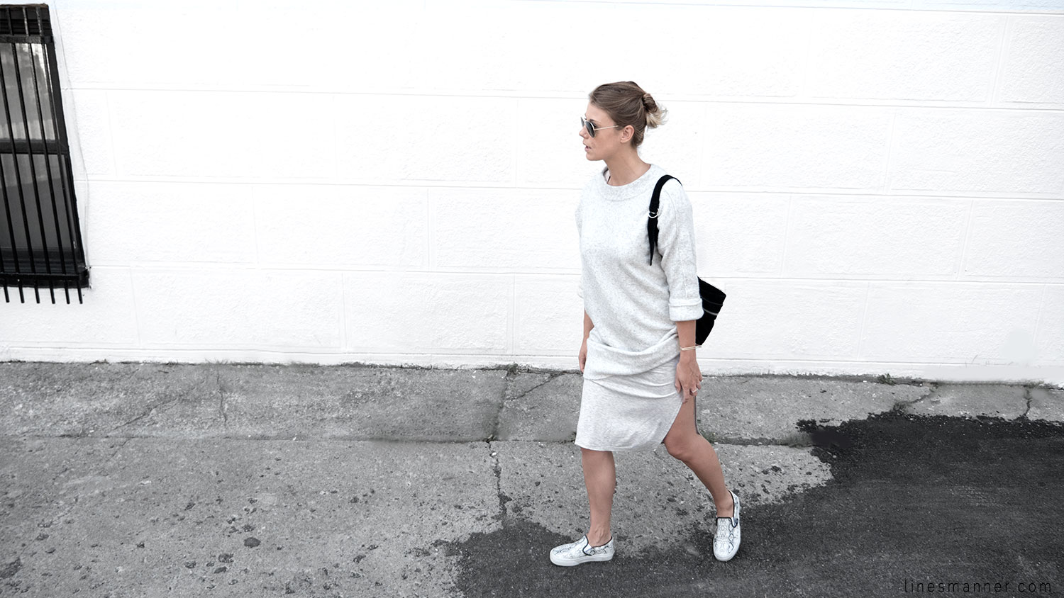 Lines-Manner-Fashion-Collaboration-The_Demeler-Monochrome-Grey_on_Grey-Fresh-Brightly-Outfit-Simplicity-Details-Trend-Minimalist-Flowy-Layering-Sleeves-Sweater_Dress-10