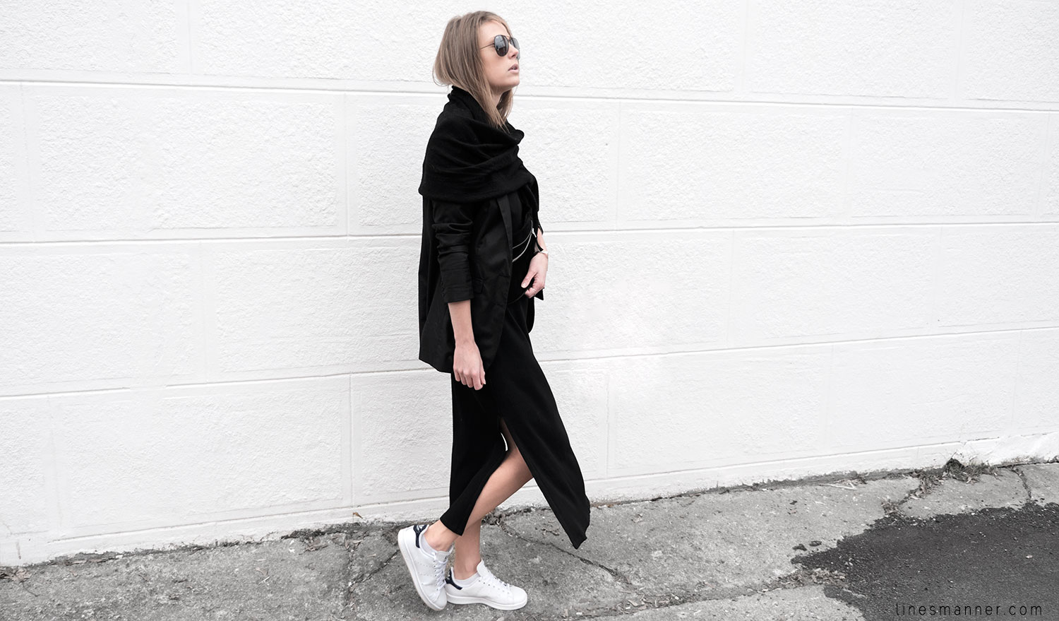 Lines-Manner-Black-Relaxed-Tone_on_Tone-Monochrome-Minimal-Sophistication-Comfort-Modern-Simplicity-Casual-Sporty_Luxe-Slit_Dress-Thrid_Form-Blazer-Essentials-Details-Basics-Timeless-Verstatile-Staple-Wardrobe-Sleek-Clean_Lines-All_Black_Everything-12