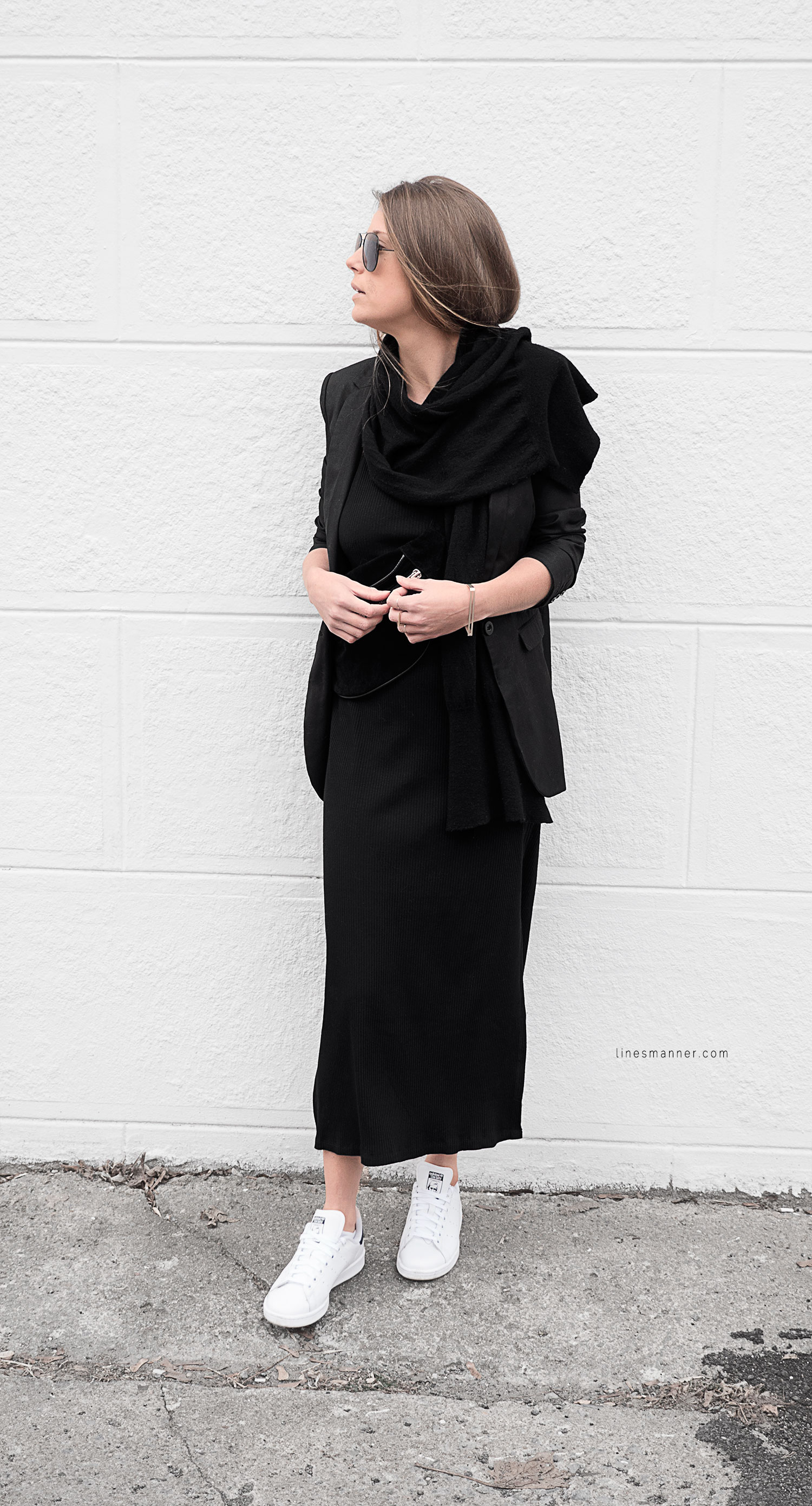 Lines-Manner-Black-Relaxed-Tone_on_Tone-Monochrome-Minimal-Sophistication-Comfort-Modern-Simplicity-Casual-Sporty_Luxe-Slit_Dress-Thrid_Form-Blazer-Essentials-Details-Basics-Timeless-Verstatile-Staple-Wardrobe-Sleek-Clean_Lines-All_Black_Everything-6
