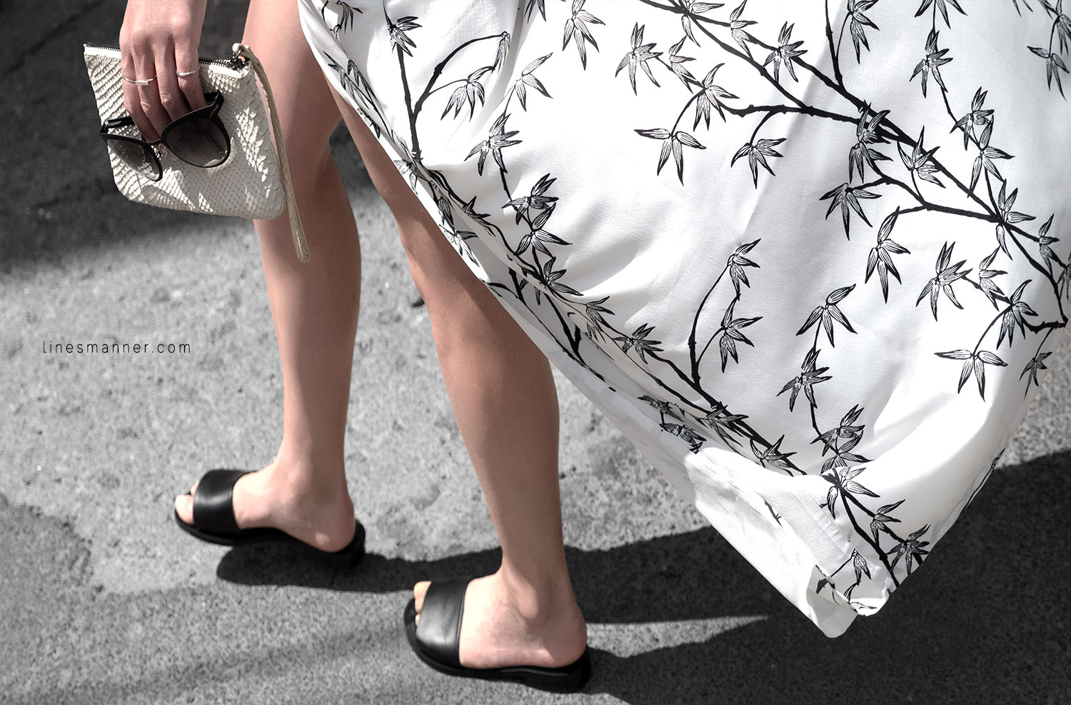 Lines-Manner-Minimal-Simplicity-Essentials-Bon_Label-Neon_Rose_Print-Bamboo-Slit_Dress-Wrap_Dress-Maxi_Dress-Fesh-Black_and_White-Casual-Elegant-Bright-Monochrome-6