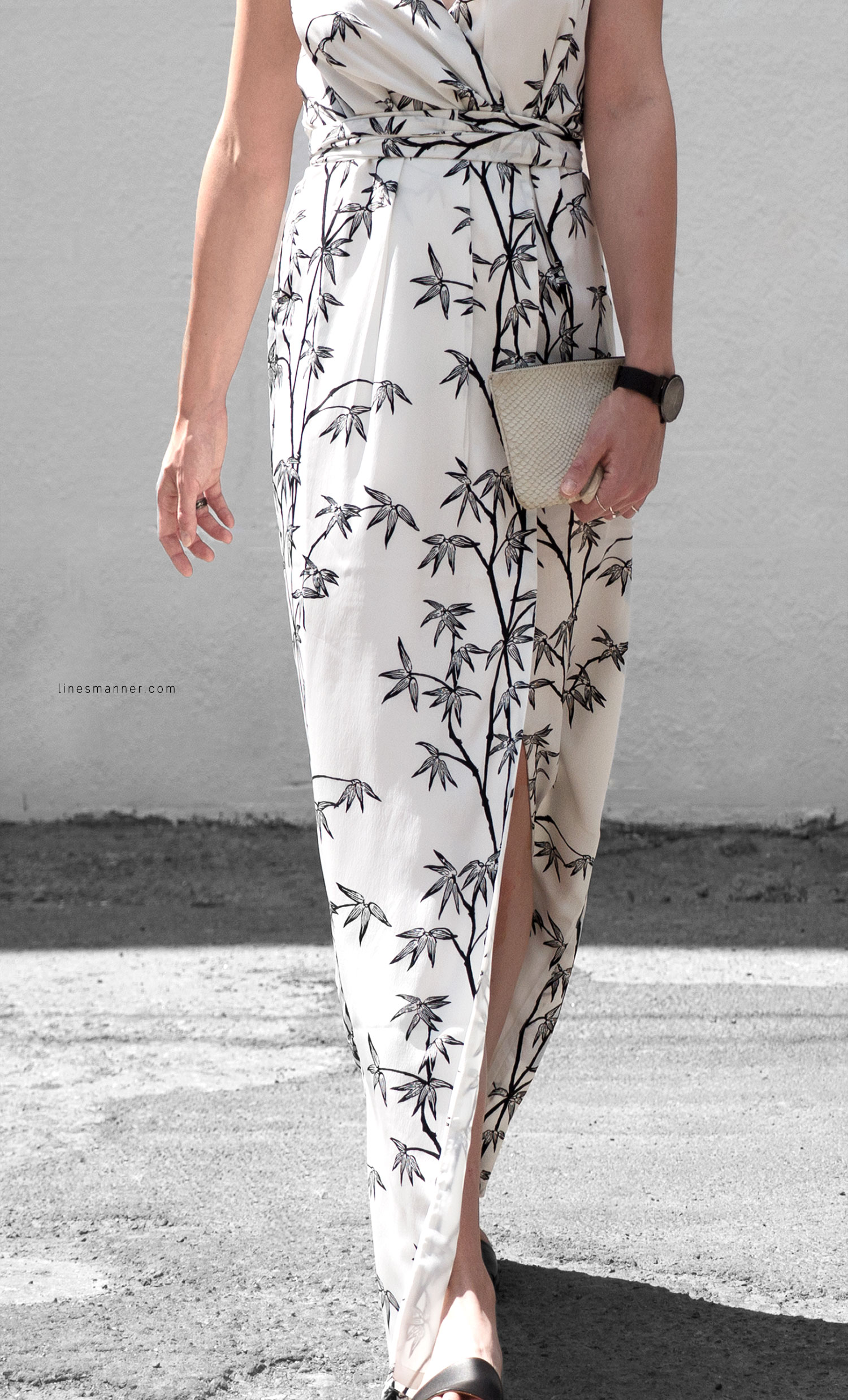 Lines-Manner-Minimal-Simplicity-Essentials-Bon_Label-Neon_Rose_Print-Bamboo-Slit_Dress-Wrap_Dress-Maxi_Dress-Fesh-Black_and_White-Casual-Elegant-Bright-Monochrome-20