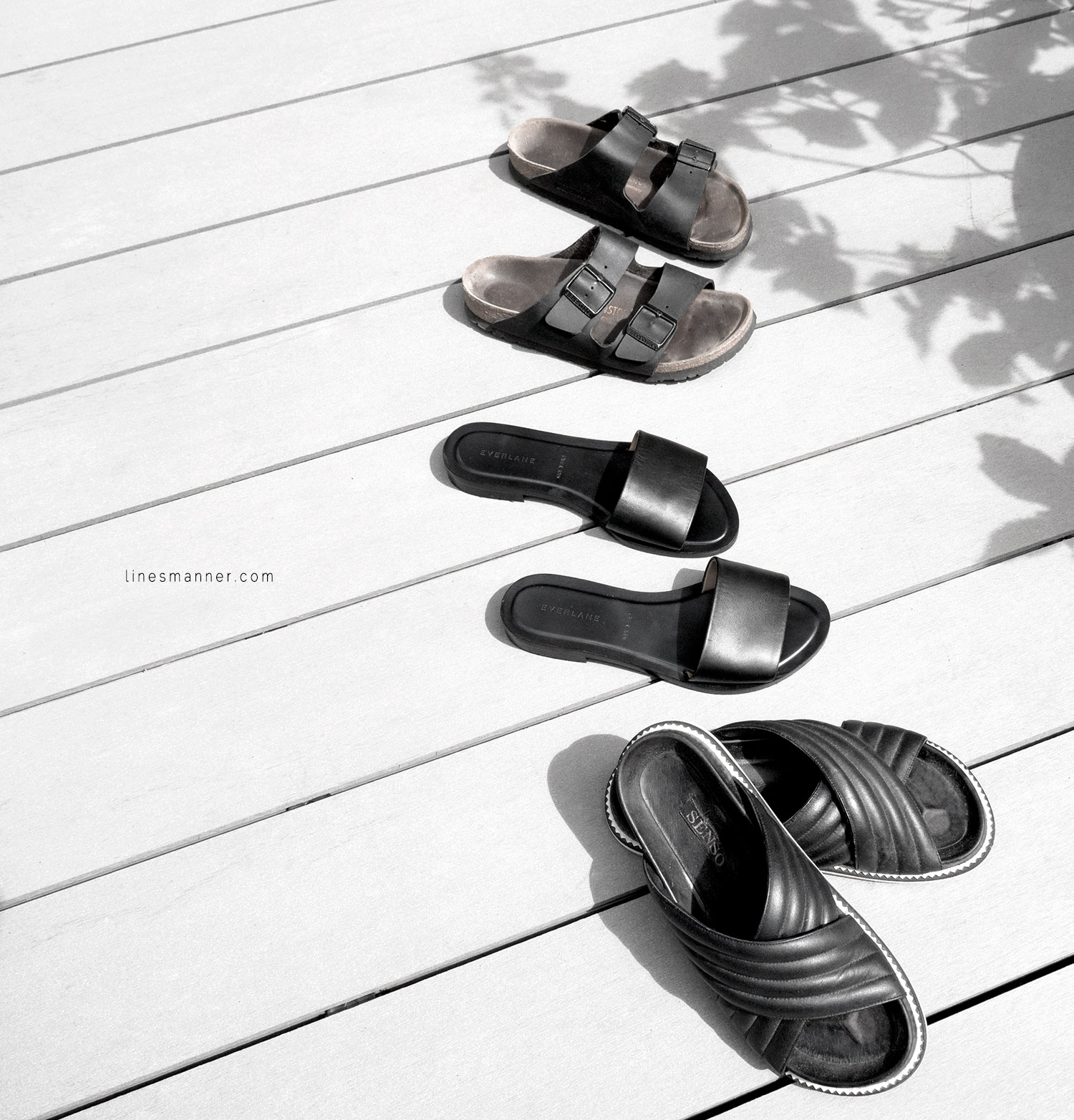 Lines-Manner-Summer-Shoes-Slides-Black-Leather-Minimal-Off_Duty-Senso_Everlane-Birkenstock-Essentials-Situation-2
