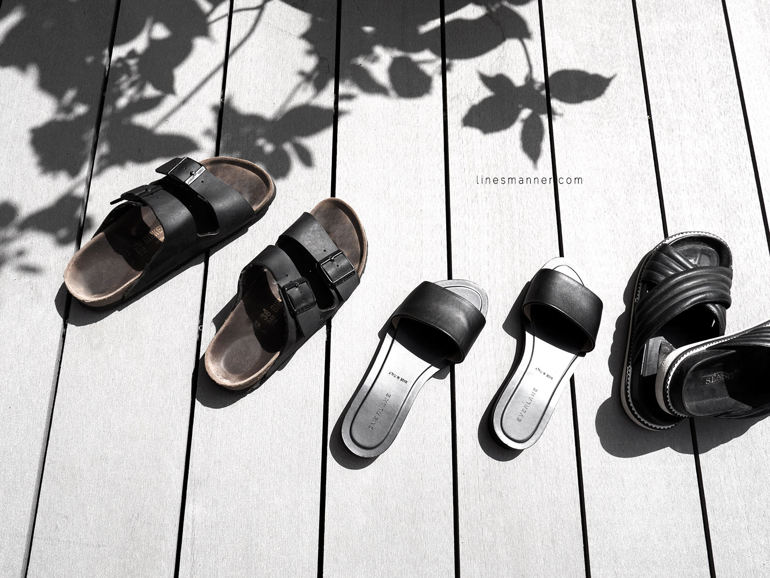 Lines-Manner-Summer-Shoes-Slides-Black-Leather-Minimal-Off_Duty-Senso_Everlane-Birkenstock-Essentials-Situation-4